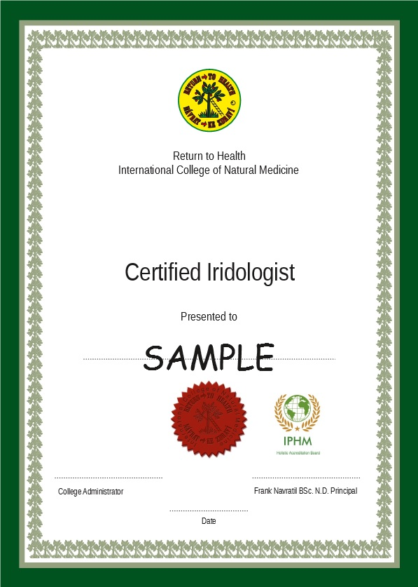 Iridology Course7